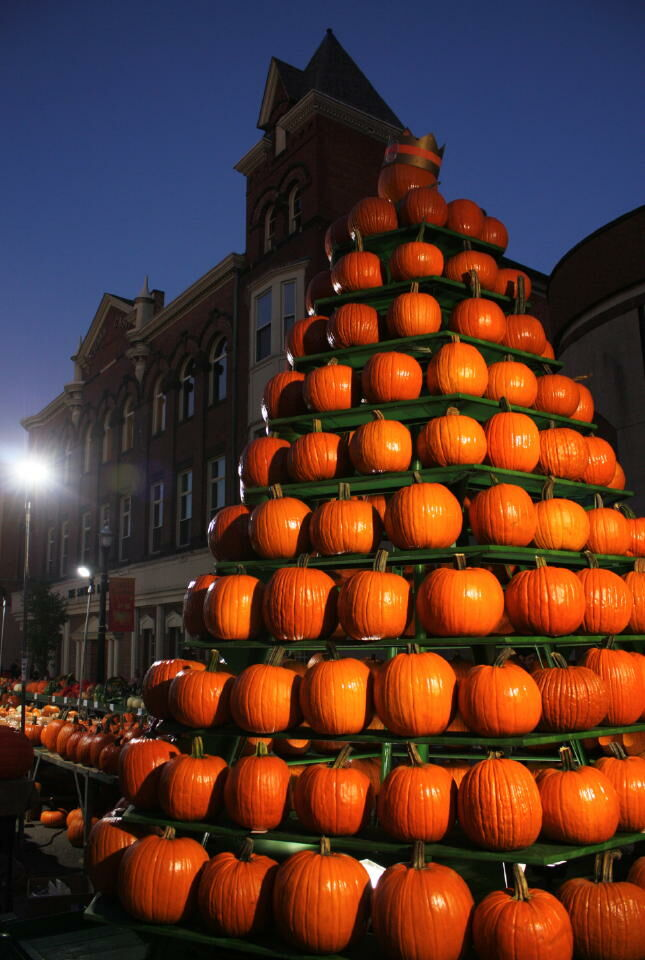 Preview night of the 2017 Circleville Pumpkin Show