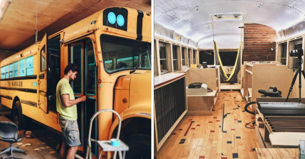 they turned school bus into a tiny home and it looks nicer than some rh 1061kissfm iheart com bus into rome fiumicino airport bus into rome fiumicino airport
