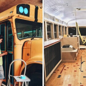 They Turned School Bus Into A Tiny Home And It Looks Nicer Than Some Houses
