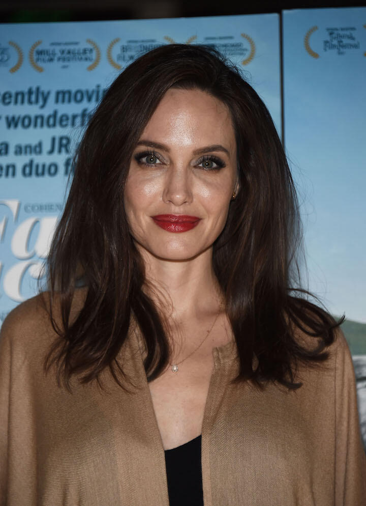 Angelina Jolie Debuts Chic New Rebound Haircut Iheartradio