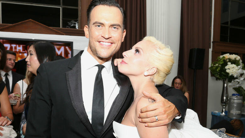 Image result for Cheyenne Jackson and Lady Gaga
