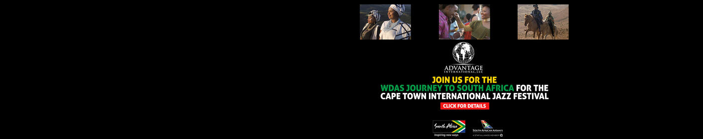 Join WDAS for a Trip to South Africa for the Cape Town International Jazz Festival