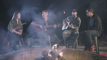 blakes-all-access-pass - EXCLUSIVE: Watch Blake Shelton Perform 'I'll Name The Dogs' At His Ranch
