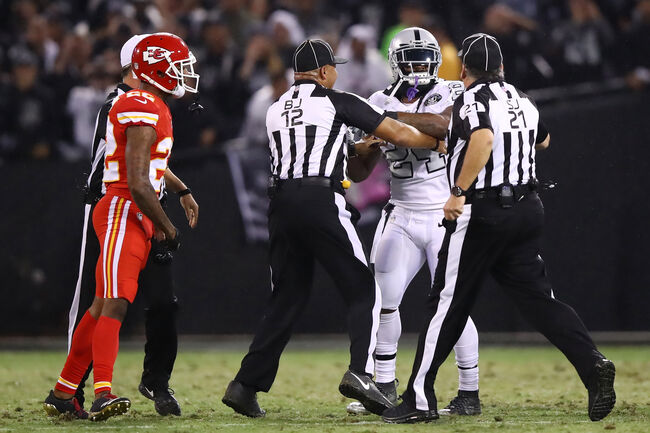 Oakland Raiders vs. Kansas City Chiefs