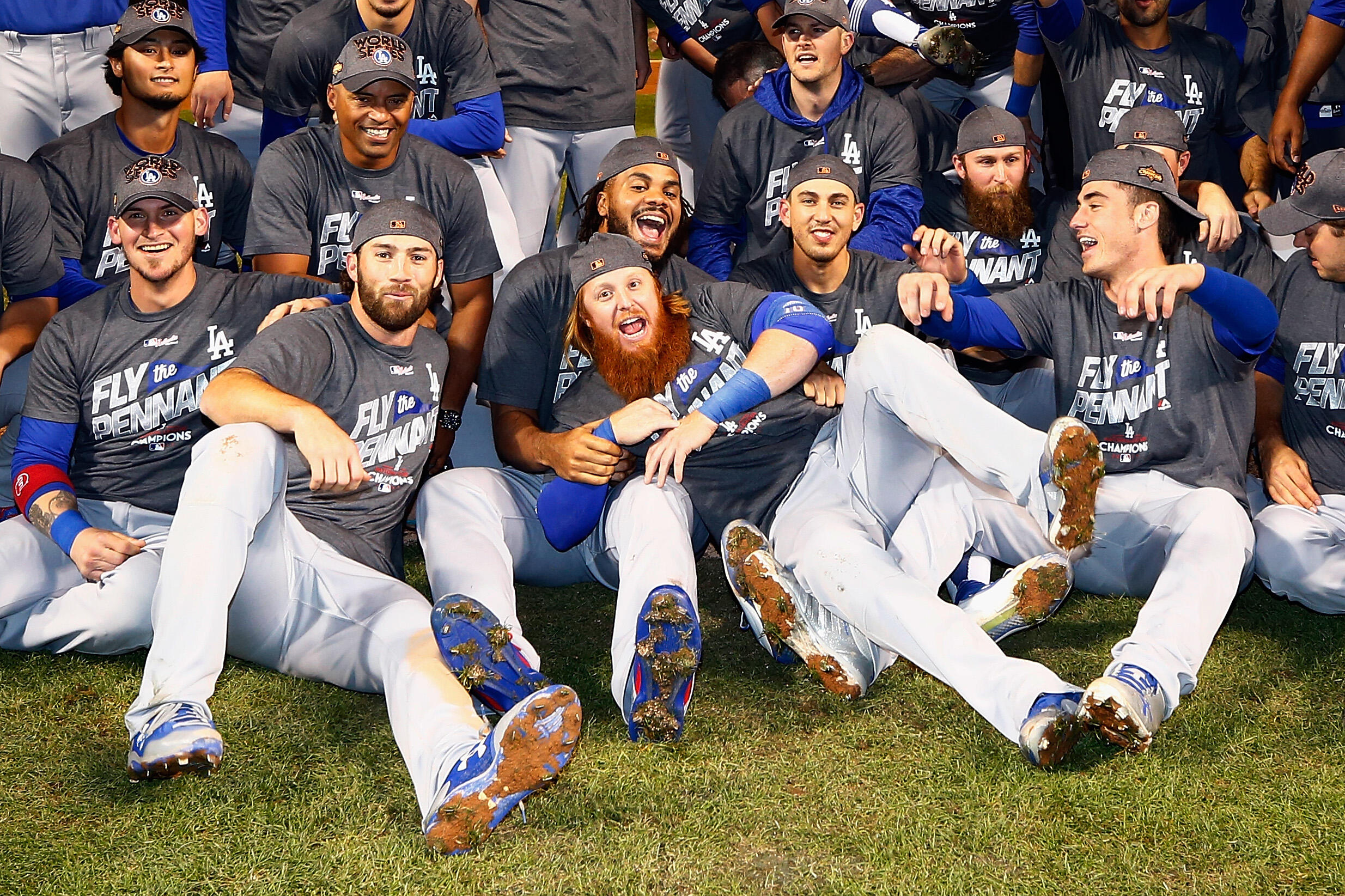 Dodgers advance to World Series: Full Celebration Coverage