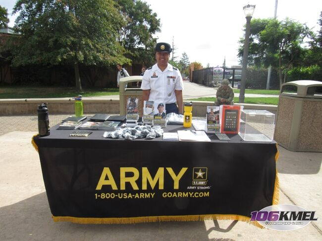 US Army @ Sequoia High   Redwood City   10.20.17