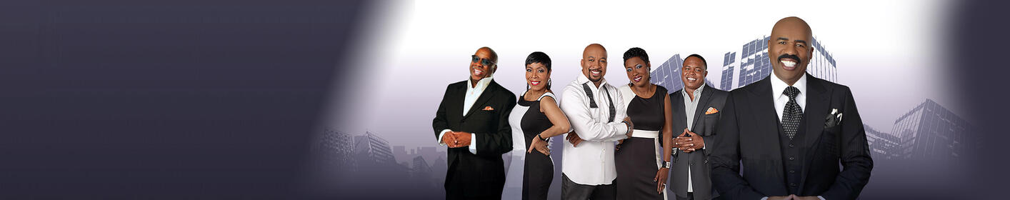Listen to the Steve Harvey Morning Show, 5-9 weekdays on 104.5 KISS-FM!