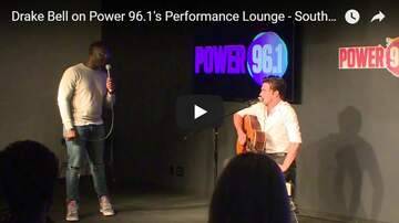 Power Performance  - Drake Bell on Power 96.1's Performance Lounge