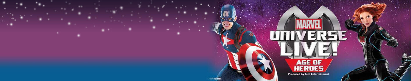 Marvel Universe Live. Get $20 Tickets Here