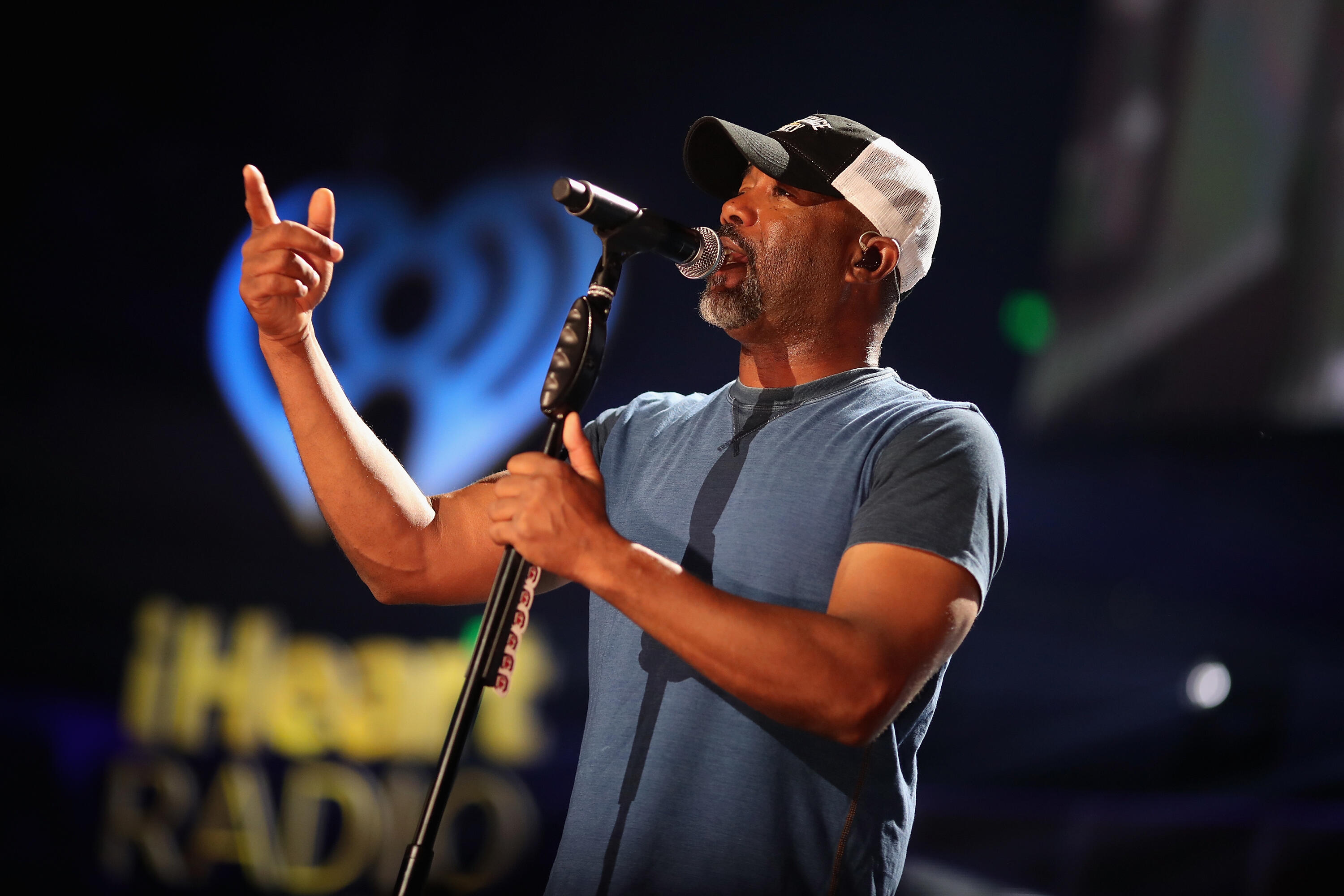 AUSTIN, TX - MAY 06: Singer Darius Rucker performs onstage during the 2017 iHeartCountry Festival, A Music Experience by AT&T at The Frank Erwin Center on May 6, 2017 in Austin, Texas. (Photo by Christopher Polk/Getty Images for iHeartMedia )