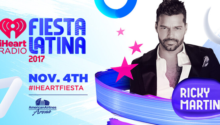 Ricky Martin Added To 2017 iHeartRadio Fiesta Latina Lineup on STAR 94.1