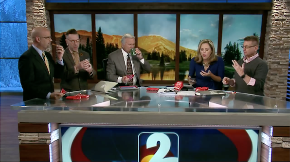 News Anchor Throws Up On Live TV After Eating Very Spicy