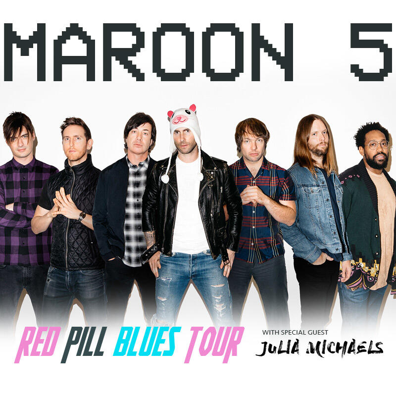maroon 5 is going back on tour in 2018 jesse lozano kiis fm. Black Bedroom Furniture Sets. Home Design Ideas