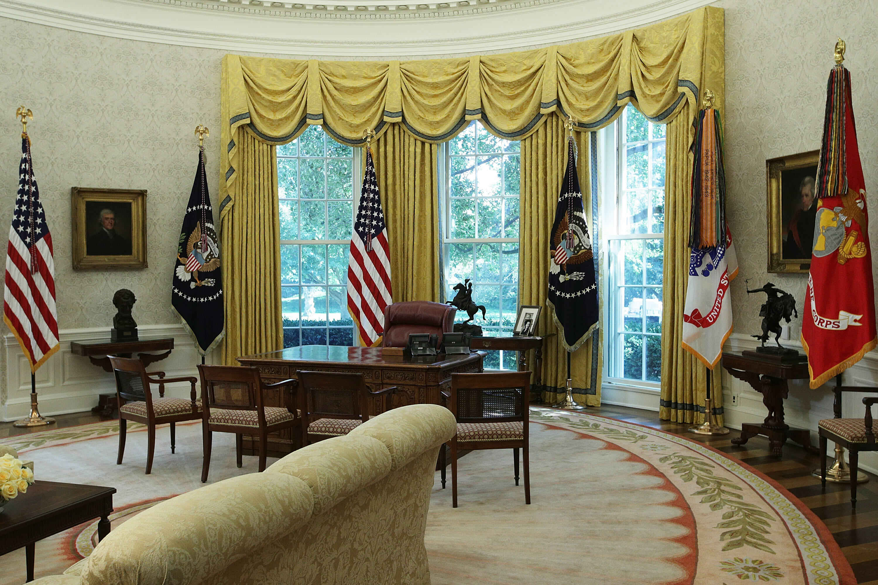 Here\'s What Trump Has Spent Redecorating White House | iHeartRadio