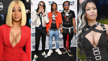 Powerhouse - Cardi B and Nicki Minaj Link Up On Migos' Motor Sport - Listen Here