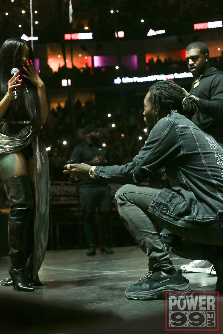 Offset Proposes to Cardi B at POWERHOUSE PHILLY!