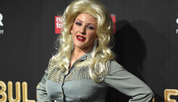 You'll Barely Recognize Ellie Goulding in Her Perfect Dolly Parton Costume on STAR 94.1