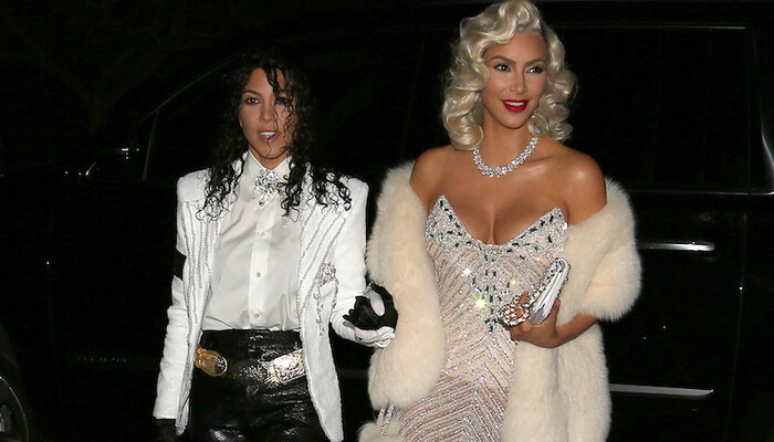 Kim And Kourtney Nail Madonna, Michael Jackson Halloween Costumes (VIDEO) on STAR 94.1