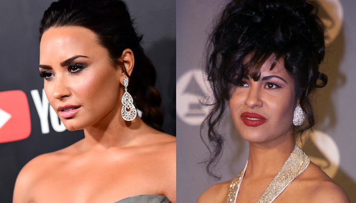 Demi Lovato Dressed Up as Selena For Halloween and Our Hearts Can't Take It on STAR 94.1