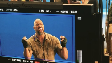 Entertainment News - Watch The Rock Lip-Syncing To Welcome To The Jungle