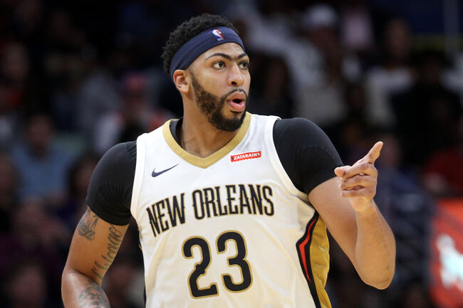 Anthony Davis New Orleans Pelicans Getty Images