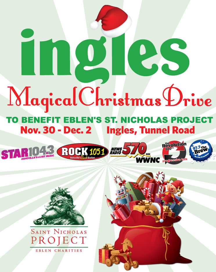 Eblen Charities Toys For Tots : Ingles magical christmas toy drive benefiting eblen