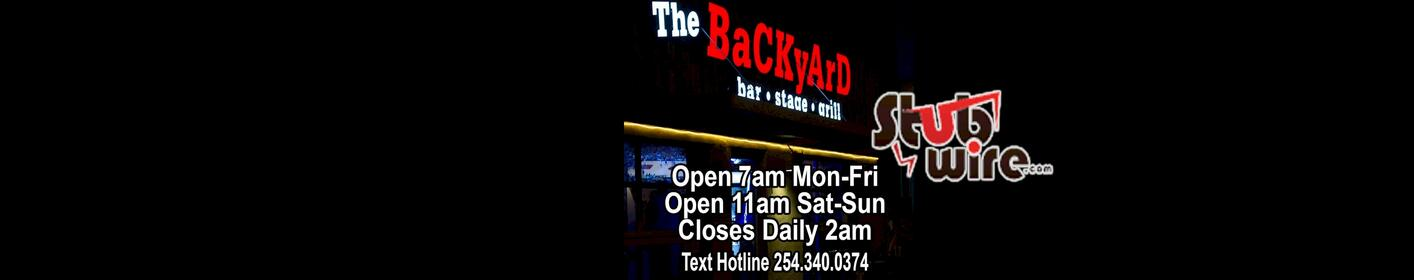 The BackYard Bar Stage & Grill | CONCERT CALENDAR AND TICKETS