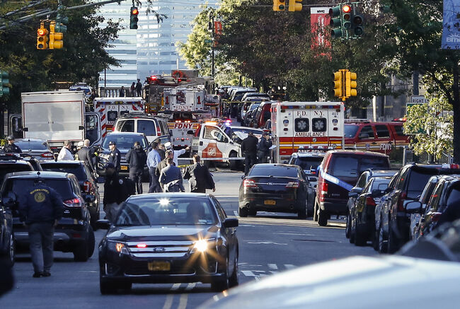 NYC Terror Truck Rampage