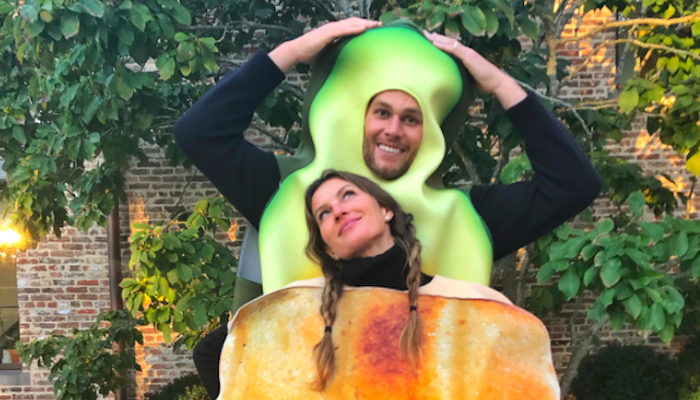 Gisele, Tom Brady and More of the Best 2017 Couple Costumes  on STAR 94.1