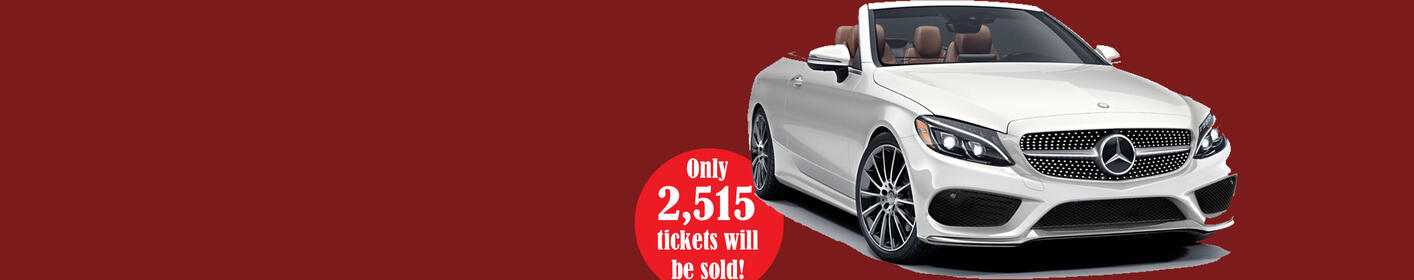 Heart Raffle: Win the Mercedes-Benz of your Dreams!