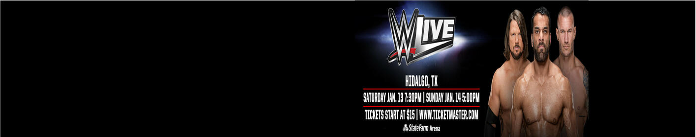 Register for a chance to win a pair of tickets to WWE LIVE!