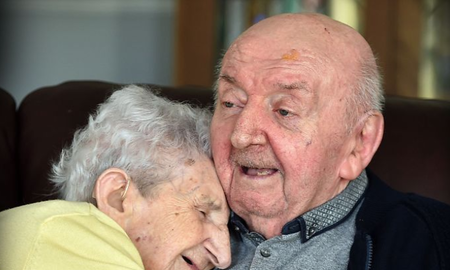 Weird News - 98-Year-Old Mom Moves Into Nursing Home To Take Care Of 80-Year-Old Son