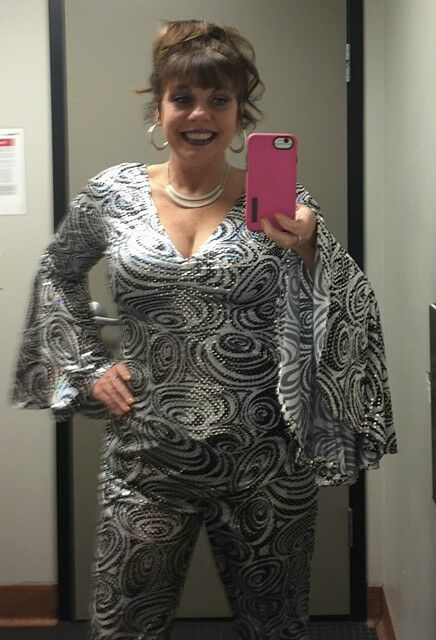 "My ""Disco Diva"" Halloween costume! (I didn't place, boo!)"
