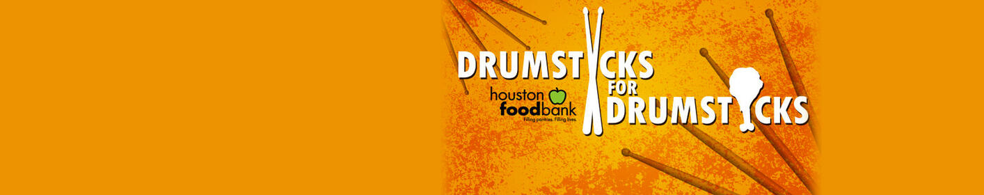 Signed drumsticks from celebs, artists, athletes & more auctioned to raise money for The Houston Food Bank