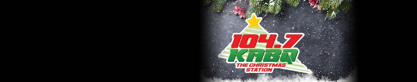 Your Christmas Favorites are on 104.7 KABQ --- The Christmas Station!
