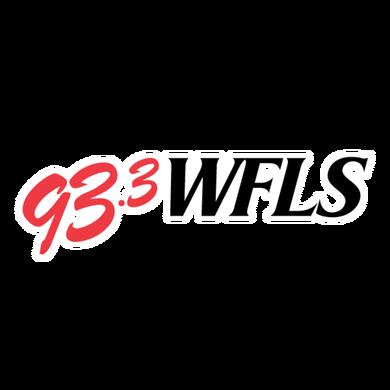 93.3 WFLS logo