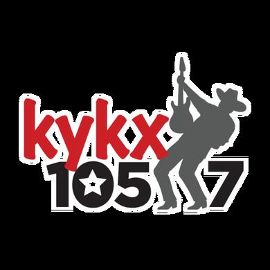 KYKX 105.7 logo