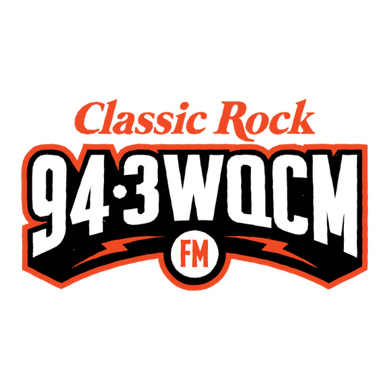 94.3 WQCM logo