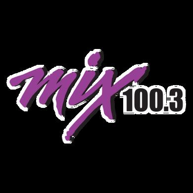 Mix 100.3 logo