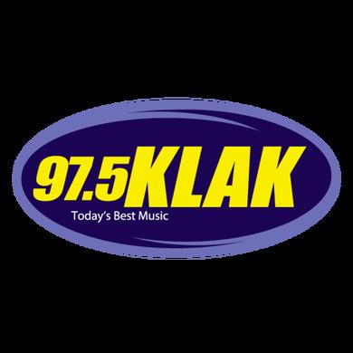 97.5 KLAK logo