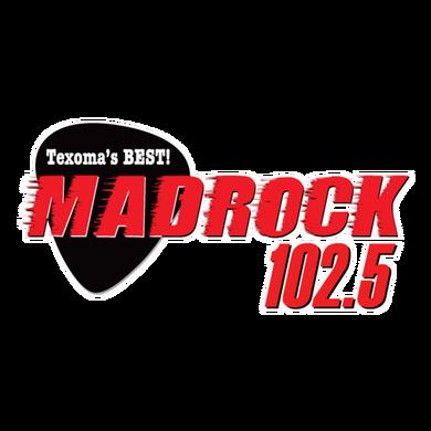 Mad Rock 102.5 logo