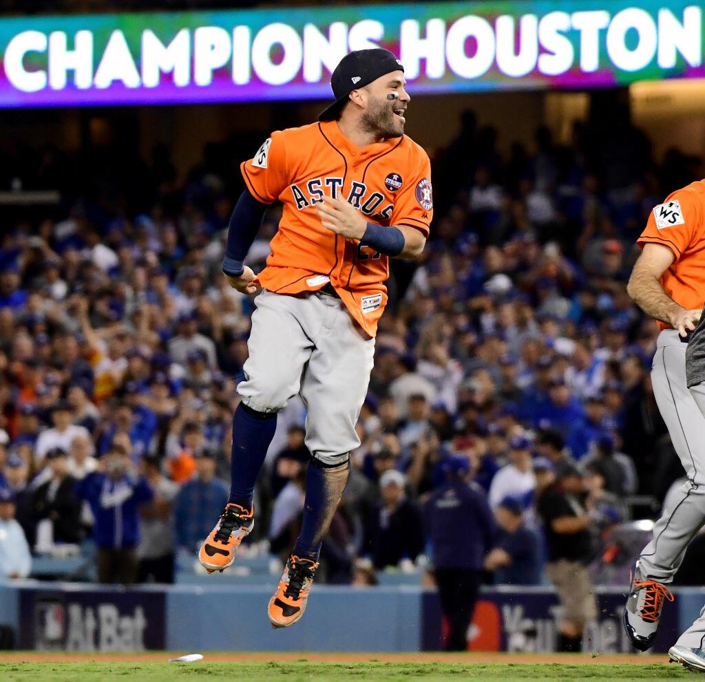 Astros' Altuve Wins Another Silver Slugger Award