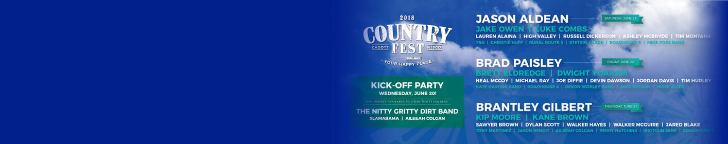 Get your tickets to Country Fest!