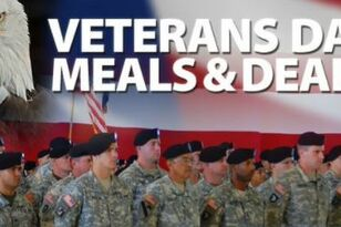 Veteran's Day Food Deals And Discounts