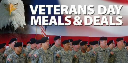 Veterans Day deals: Where vets get freebies and discounted meals, haircuts and more