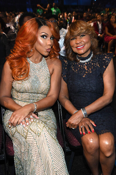 Tamar Braxton's Mom tells her ex to keep his hands off her daughter before he kills her!
