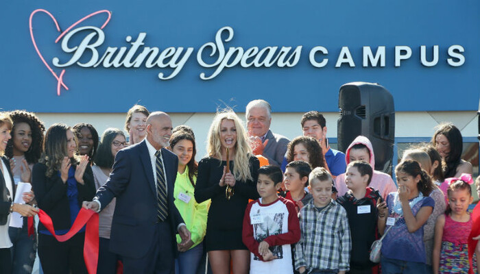 Britney Spears Launches Children's Cancer Foundation Campus In Las Vegas on STAR 94.1