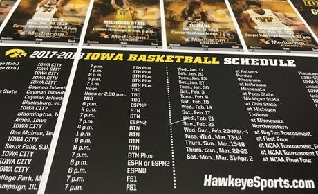 800 KXIC Gives Away Iowa Men's Basketball Tix All Season Long!!! Good Luck and Go Hawks!!!