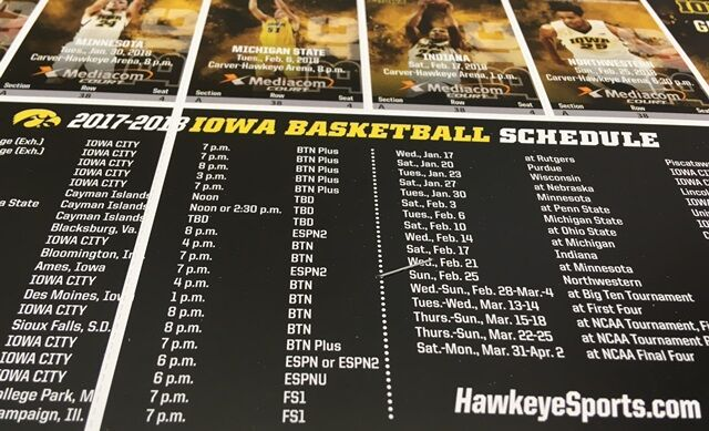 Win Iowa Men's Basketball Tickets