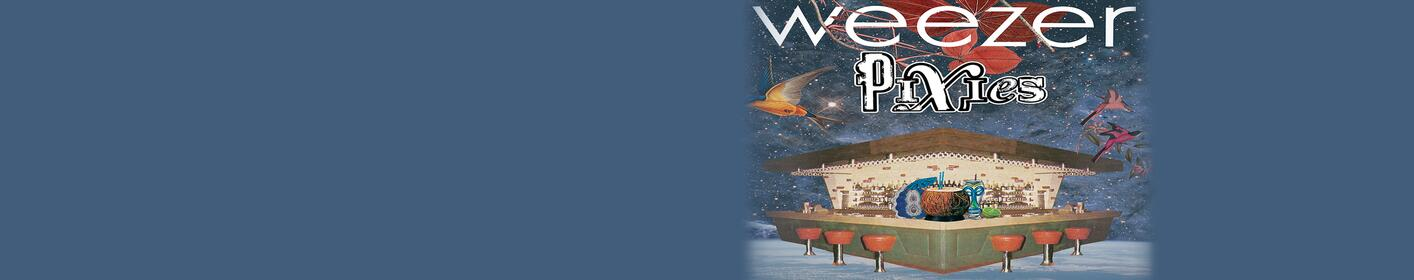 Win tickets to see Weezer at The AMP with Hot Mix 101.9!